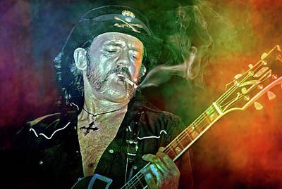 Lemmy Digital Art - If You Like To Gamble by Mal Bray