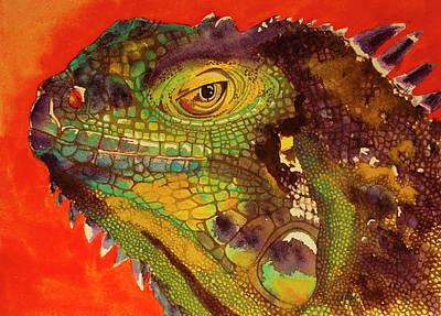 Iggy Art Print by Cynthia Powell