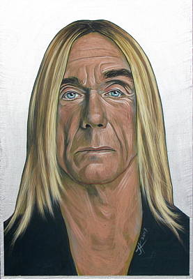 Iggy Pop 2 Art Print