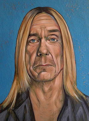 Iggy Pop Art Print