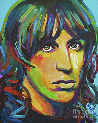 Painting - Iggy Pop by Robert Phelps