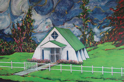 Painting - Iglecia Poasita by Jeff Seaberg