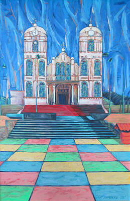 Painting - Iglecia Sarchi by Jeff Seaberg