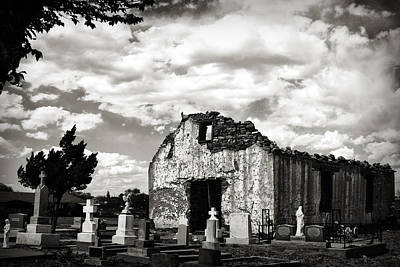 Iglesia Cementerio Art Print
