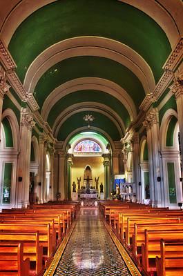 Photograph - Iglesia De La Merced by Graesen Arnoff