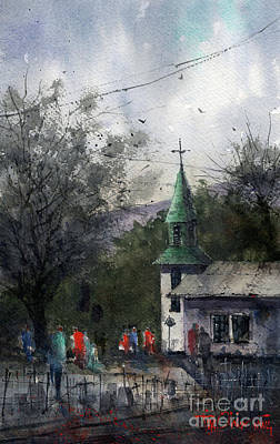 Painting - Iglesia De San Patricio Demo by Tim Oliver