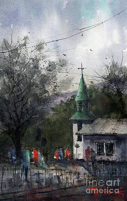 Painting - Iglesia De San Patricio Demo by Tim Oliver