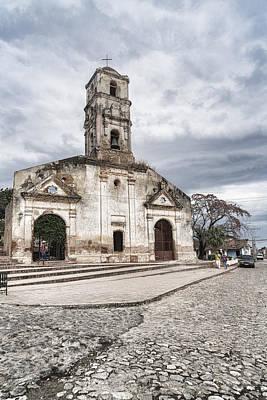Photograph - Iglesia De Santa Ana by Sharon Popek