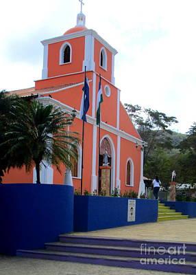 Photograph - Iglesia En San Juan Del Sur 2 by Randall Weidner
