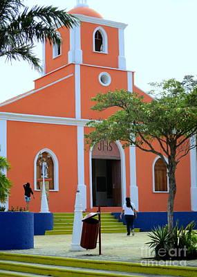 Photograph - Iglesia En San Juan Del Sur by Randall Weidner