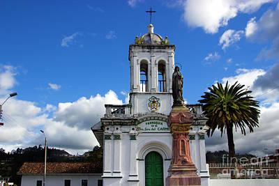 Iglesia Virgen De Bronce, Parroquia De Nuestra Senora Del Carmen Art Print by Al Bourassa