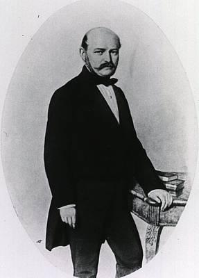 Hand Washing Photograph - Ignaz Philipp Semmelweis 1818-1865 by Everett