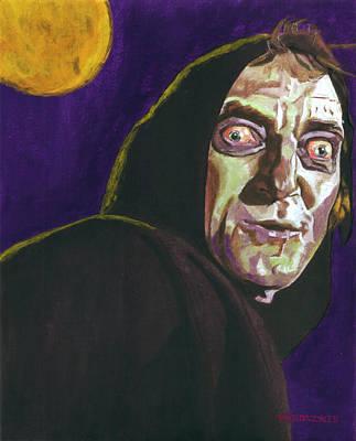 Frankenstein Painting - Igor Portrait by Aljohn Gonzales