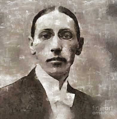 Igor Stravinsky, Composer Art Print by Mary Bassett