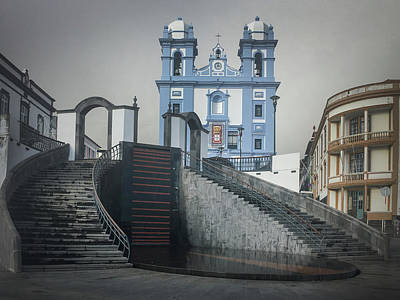 Photograph - Igreja Da Misericordia De Angra Do Heroismo by Kelly Hazel