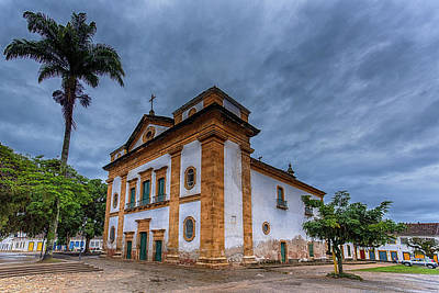 Photograph - Igreja Matriz by Pravine Chester
