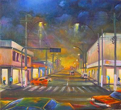 Painting - Iguaba Grande by Leomariano artist BRASIL