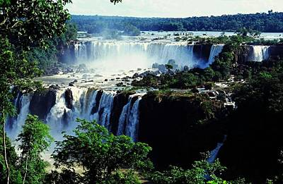 Iguacu Waterfalls Art Print