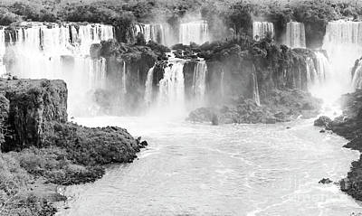 Photograph - Iguazu Falls by Pravine Chester