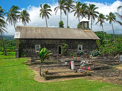 Photograph - Ihi'ihio Iehowa O Na Kaua Church Maui by Waterdancer
