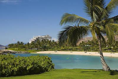 Ko Olina Lagoon Photograph - Ihilani Hotel Tropical Lagoon by Dana Edmunds - Printscapes