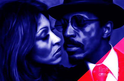 Ike And Tina Turner Collection Art Print