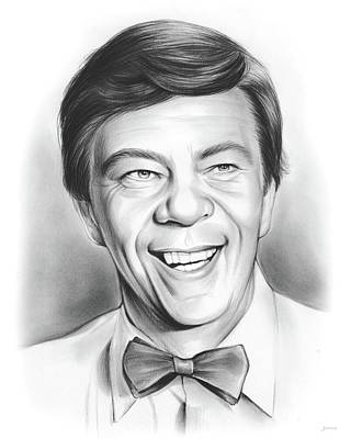 1970s Drawing - Ike Godsey by Greg Joens
