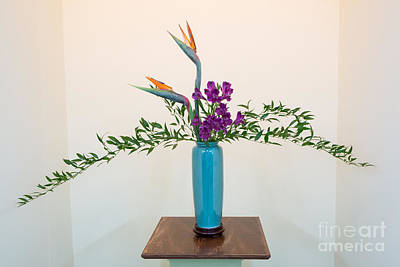 Photograph - Ikebana Art by Kevin McCarthy
