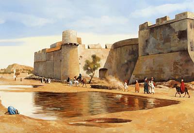 Castle Wall Art - Painting - Il Castello by Guido Borelli