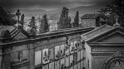 Photograph - Il Cimitero E Il Duomo by Sonny Marcyan