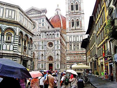 Photograph - Il Duomo De Firenze by Debbie Oppermann