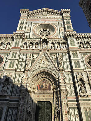 Photograph - Il Duomo Di Firenze by Nancy Merkle