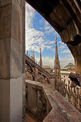 Photograph - il Duomo di Milano 1 by Art Ferrier