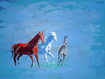 Painting - Il Futuro Ci Viene Incontro by Enrico Garff