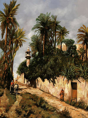 Painting Royalty Free Images - Il Mendicante Royalty-Free Image by Guido Borelli