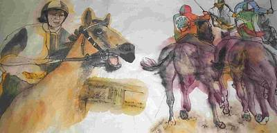 Painting - Il Palio In Length by Debbi Saccomanno Chan