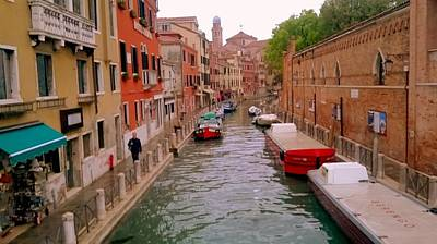 Photograph - Il Ponte Malvasia  Venice by Rusty Woodward Gladdish