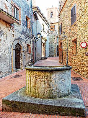 Photograph - Il Pozzo Paciano 2 by Dorothy Berry-Lound
