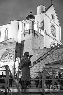 Basilica Di San Francesco Photograph - Il Predicatore by Mirko Giannetti
