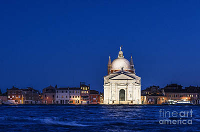 Domes Of Venice Photograph - Il Redentore by John Greim