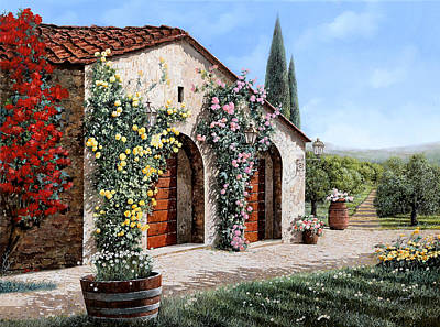 Royalty-Free and Rights-Managed Images - il ritiro in Toscana by Guido Borelli