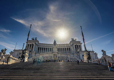 Photograph - Il Vittoriano by James Billings