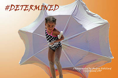 Photograph - Ilana Determined by Audrey Robillard