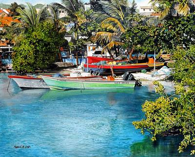 Painting - Iles Des Saintes by Robert W Cook