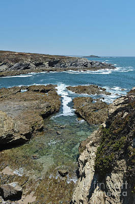Photograph - Ilha Do Pessegueiro And Cliffs In Porto Covo by Angelo DeVal