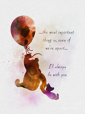 I'll Always Be With You Art Print