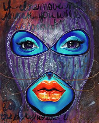 Hip Hop Star Painting - ILL by Aramis Hamer