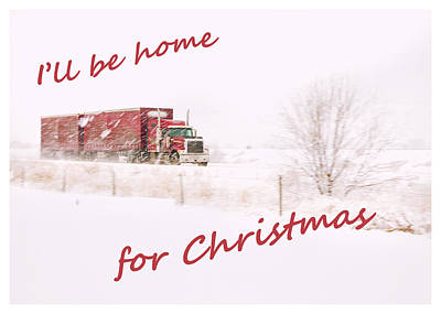 Photograph - I'll Be Home For Christmas 2 by Theresa Tahara