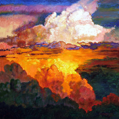 Painting - Ill Fly Away O Glory by John Lautermilch