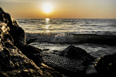 Photograph - Illinois Beach State Park At Sunrise by Sven Brogren